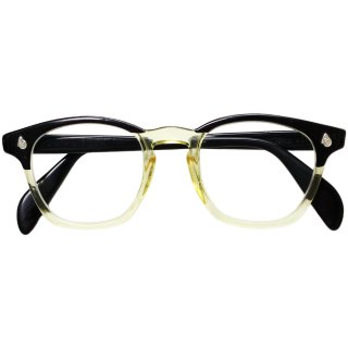 Vintage 1950's American Optical Black Fade 2Tone Eyeglasses
