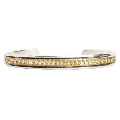 Navajo Indian Jewelry 12KGF Bangle
