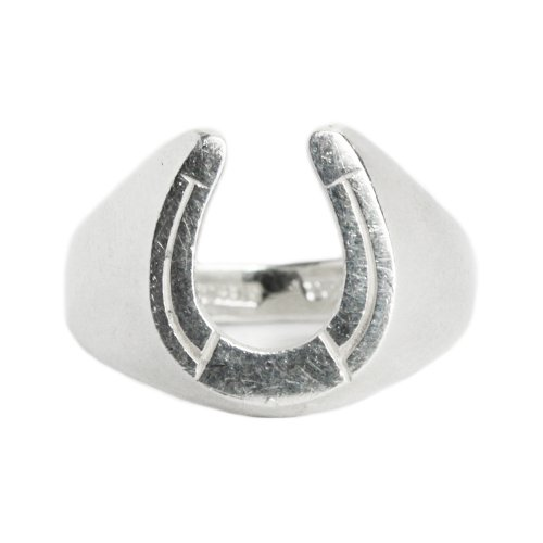 Vintage AVON Horseshoe Ring -Sterling Silver-
