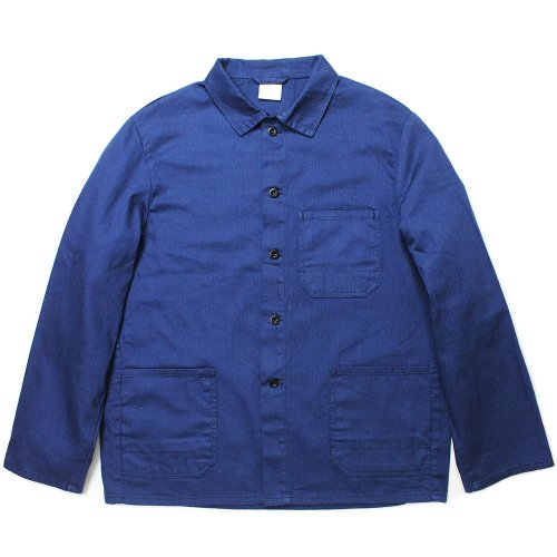 【Dead Stock】Vintage 70's German Herringbone Work Shirt Jacket