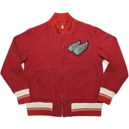 Vintage Motorcycle Melton Zip Jacket