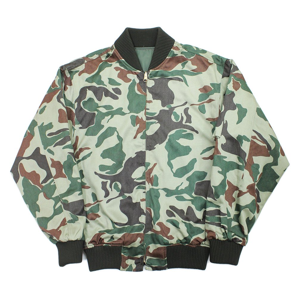 【Dead Stock】Vintage 70's JASDF MA-1 Flight Jacket -First Camouflage-