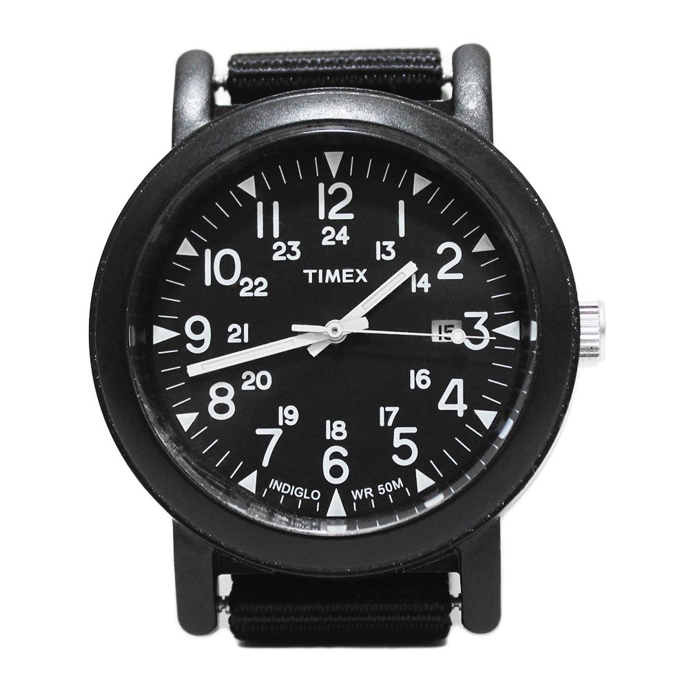 Timex Oversize Camper Wrist Watch -Limited Black-