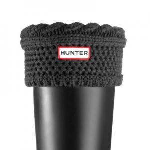 �ϥ󥿡��֡���/HUNTER - MOSS CABLE CUFF WELLY SOCKS(���������꡼) - GRAPHITE