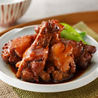 みつせ鶏 うまとろ手羽煮(しょうゆ味)210g(冷凍)
