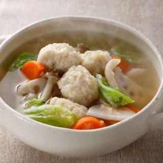 みつせ鶏 肉だんご生姜スープ付き220g(冷凍)