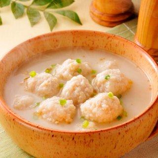 みつせ鶏のふわふわだんごと白湯スープ249g|冷凍