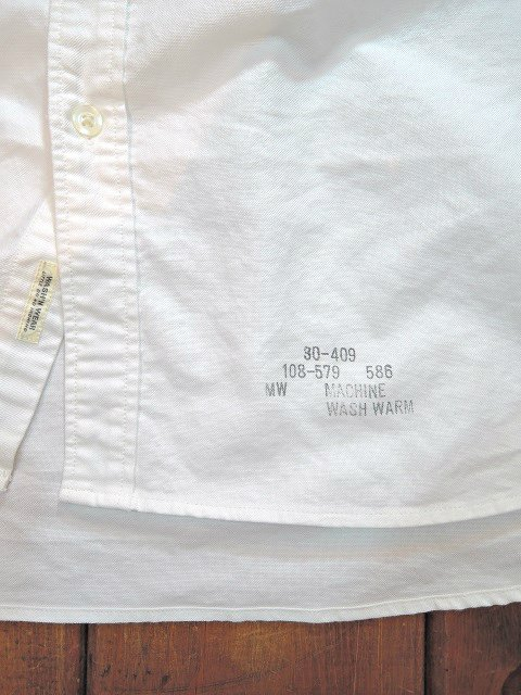 【TOWN CRAFT】OXFORD BD SHIRTS(WIDE):画像2