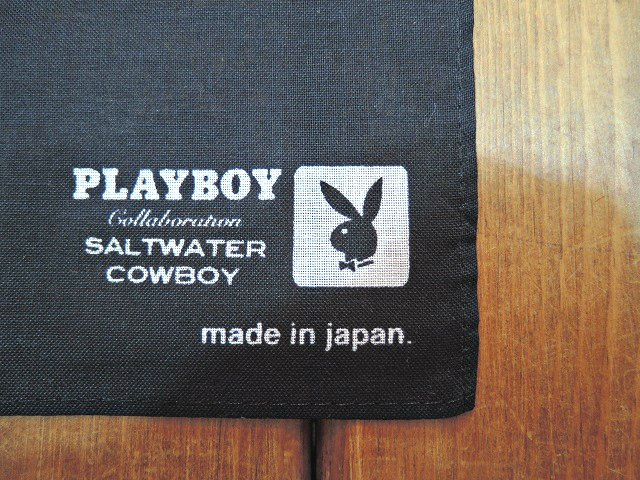 【SALT WATER COWBOY】PRINTED BANDANA【DM便発送可能】:画像4