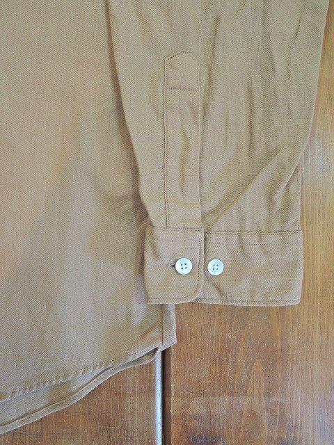 【MANUAL ALPHABET】ビエラLOOSE FIT バンドカラーシャツ:画像4