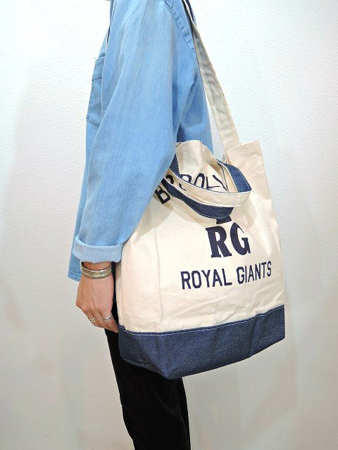 【SUNNY SPORTS】NLBM 2WAY TOTE BAG:画像4