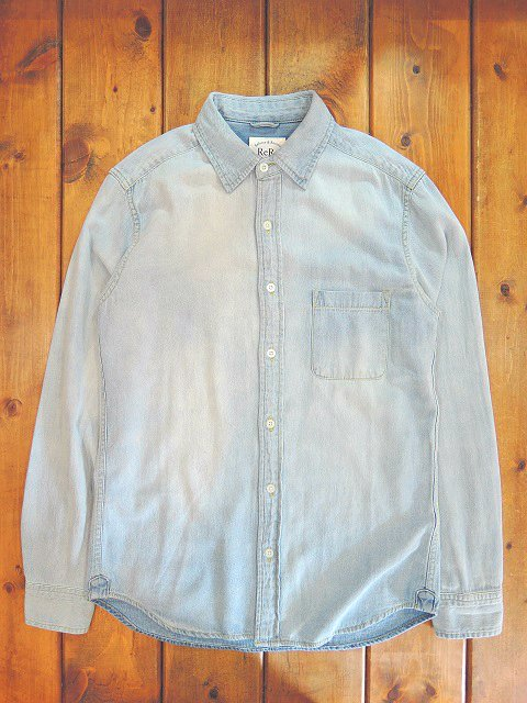 【ReRe】R-PATCHWORK DENIM SHIRTS:メイン画像