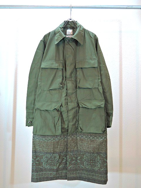 【SALT WATER COWBOY】COMBAT COAT:メイン画像