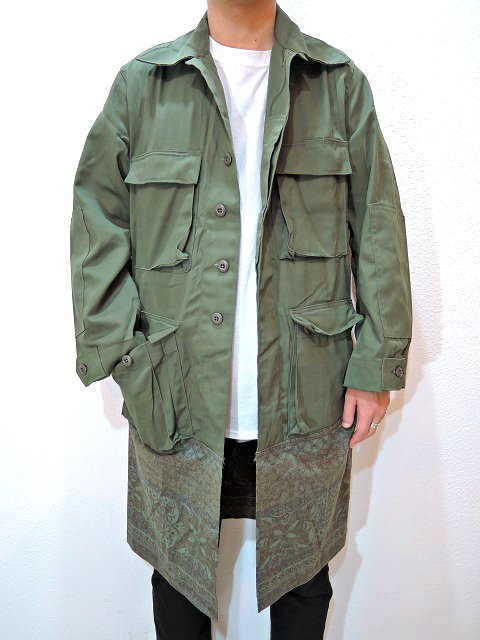 【SALT WATER COWBOY】COMBAT COAT:画像4