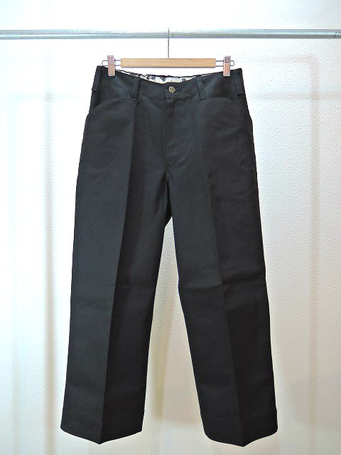 【ReRe】BD WIDE CROPPED PANTS:メイン画像