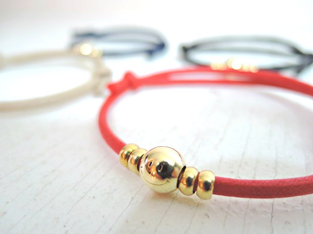 【JACKSON MATISSE】WAXED CORD ANKLET【DM便発送可能】:画像3