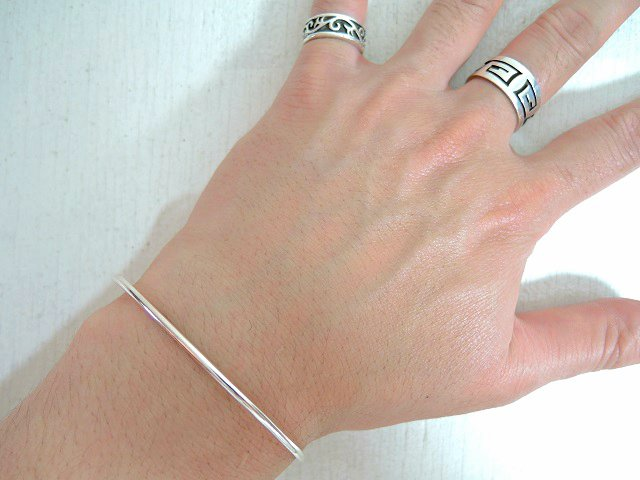 【JACKSON MATISSE】BANGLE SILVER925【DM便発送可能】:画像4