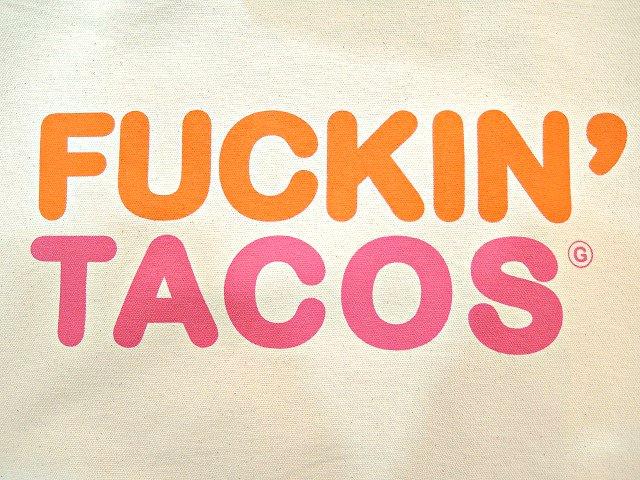 【Gorilla Tacos】FUCKIN' TACOS BAG:画像2