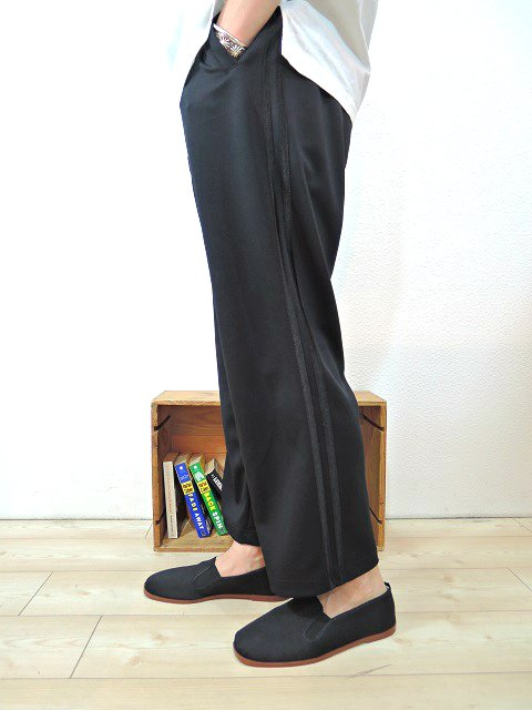 【ReRe】ONE TUCK LINE TRACK PANTS:画像4