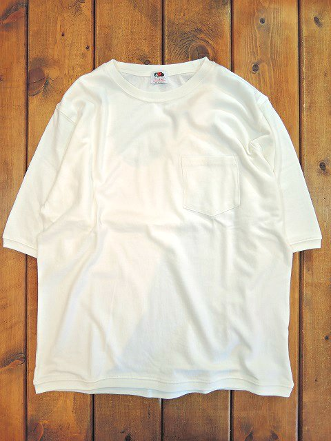 【FRUIT OF THE LOOM】HALF SLEEVE POCKET TEE【DM便発送可能】