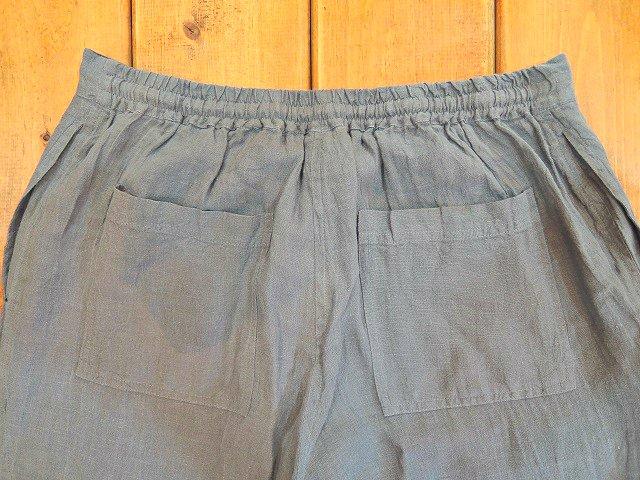 【Badhiya】1 TUCK PANTS -LINEN-:画像3