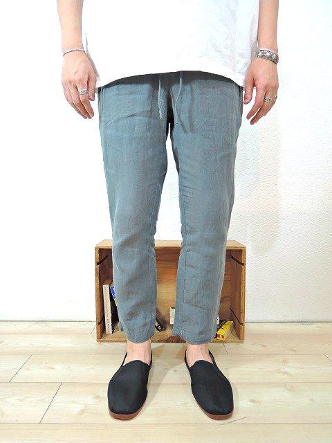 【Badhiya】1 TUCK PANTS -LINEN-:画像4