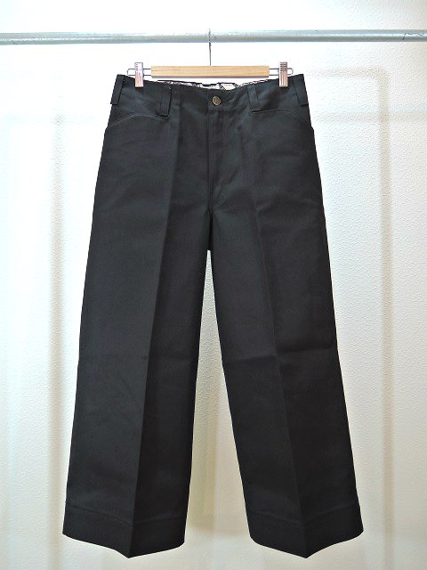 【ReRe】BD G-WIDE CROPPED PANTS