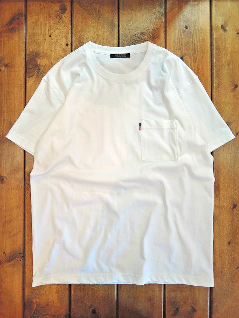 【modem design】U.S. COTTON LOOSE POCKET T-SHIRT(M-1701051)【DM便発送可能】