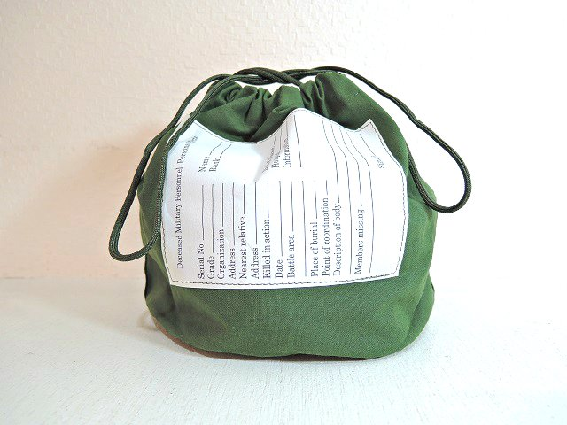 【U.S. MILITARY】PERSONAL EFFECTS BAG【DM便発送可能】