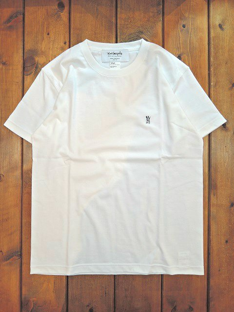 【MARK GONZALES】EMBROIDERY HEAVY TEE【DM便発送可能】