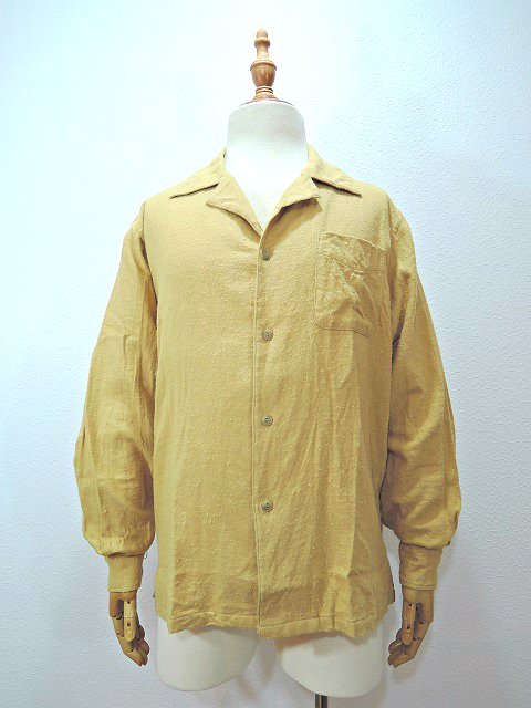 【modem design】NAPPING OPEN COLLAR SHIRT(M-1703751):メイン画像