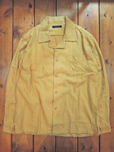 【modem design】NAPPING OPEN COLLAR SHIRT(M-1703751):画像2