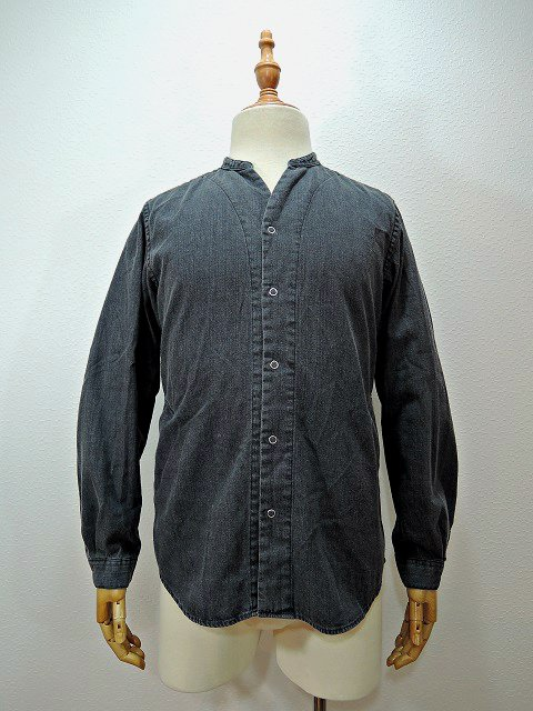【MANUAL ALPHABET】8oz DENIM V-NECK CARDIGAN