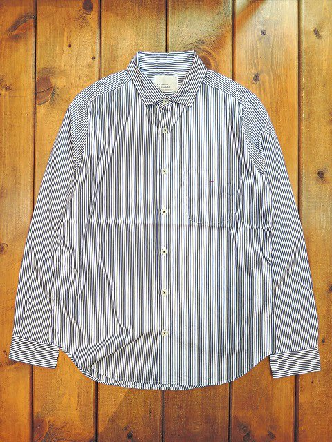 【MANUAL ALPHABET】BROAD BASIC SHIRT(WOMEN):メイン画像