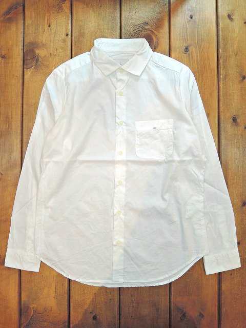 【MANUAL ALPHABET】BROAD BASIC SHIRT(WOMEN)