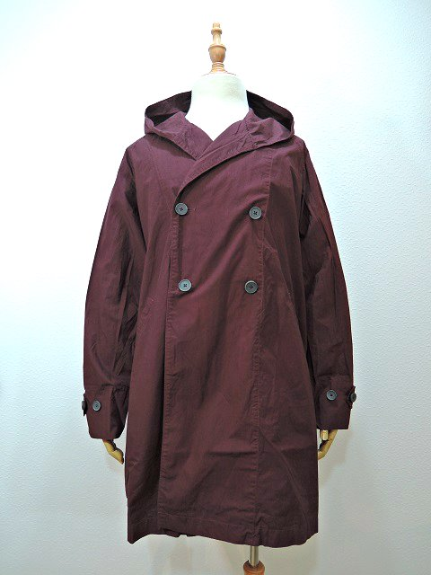 【MANUAL ALPHABET】WANDERER COAT-overdye:メイン画像