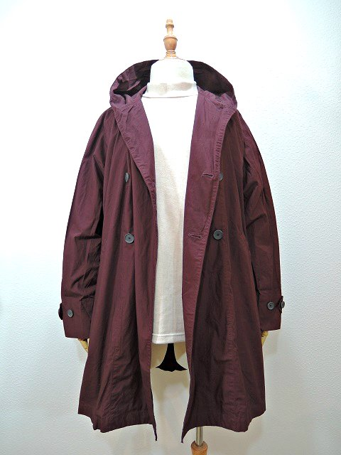 【MANUAL ALPHABET】WANDERER COAT-overdye:画像2
