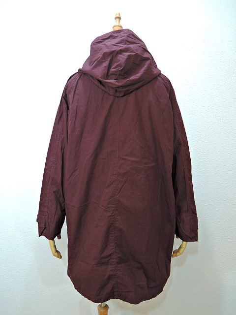 【MANUAL ALPHABET】WANDERER COAT-overdye:画像3