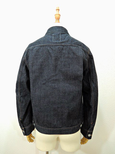 【H.UNIT STORE LABEL】1st type indigo denim jacket(Washed):画像2