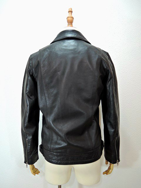 【ReRe】SEEPSKIN DOUBLE RIDERS JACKET:画像3