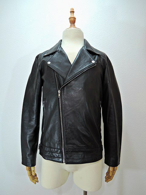 【ReRe】SEEPSKIN DOUBLE RIDERS JACKET