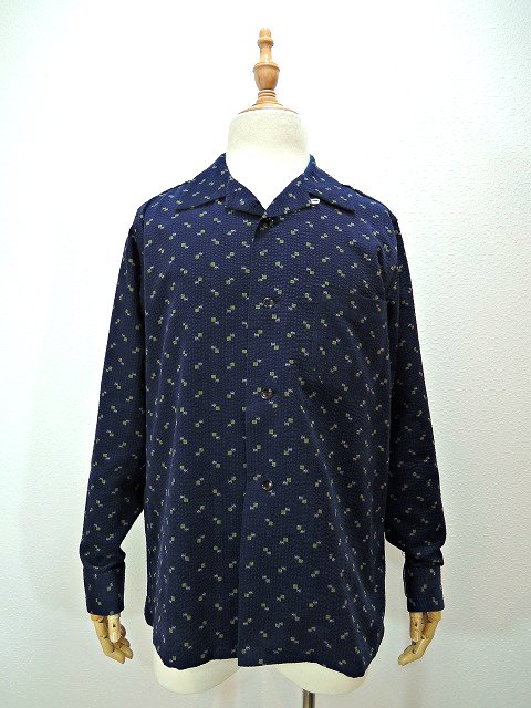 【TOWN CRAFT】RIPPLECOLE OPEN SHIRTS