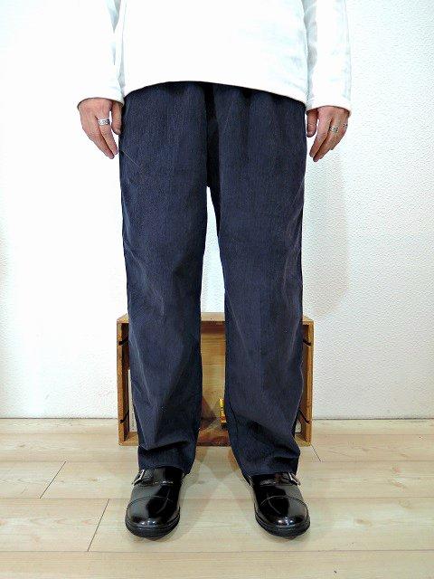 【modem design】SIDE LINE EASY CORDUROY PANTS(M-1707556):画像3