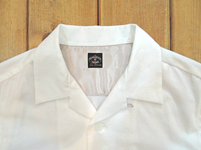 【TOWN CRAFT】SOLID NEL OPEN SHIRTS:画像2