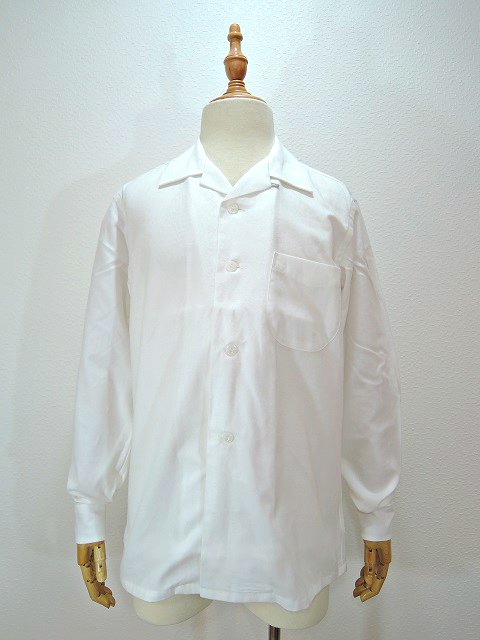 【TOWN CRAFT】SOLID NEL OPEN SHIRTS