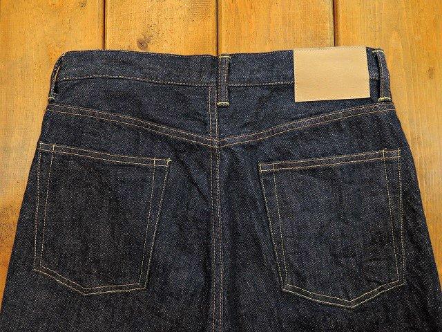 【H.UNIT STORE LABEL】Indigo denim tuck 5P(Washed):画像2