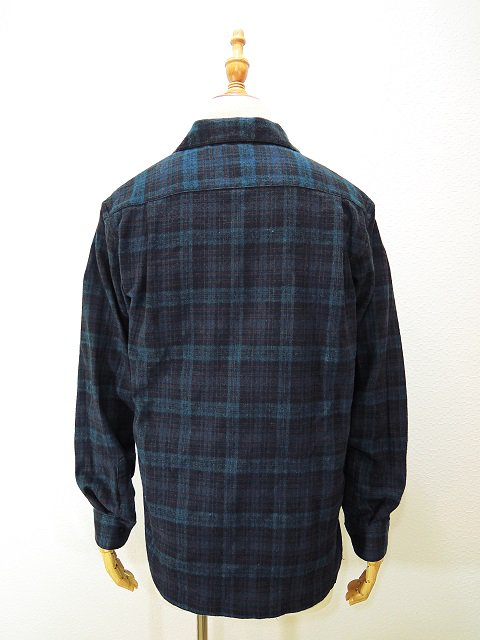 【modem design】FLANNEL OPEN COLLAR CHECK SHIRT(M-1710753):画像2
