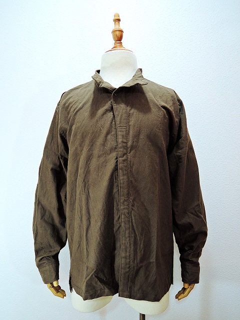 【modem design】MILITARY NECK SHIRT(M-1710752):画像2
