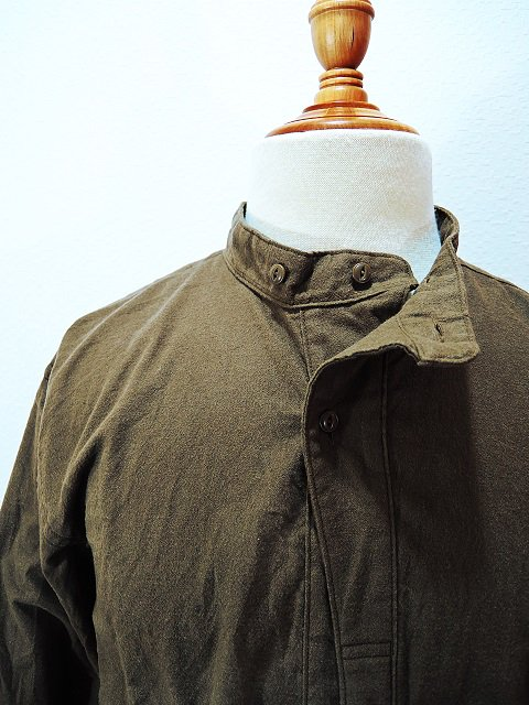 【modem design】MILITARY NECK SHIRT(M-1710752):画像4