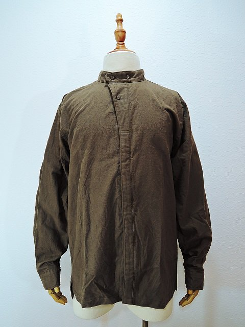 【modem design】MILITARY NECK SHIRT(M-1710752)